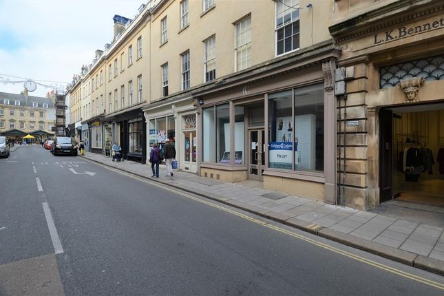 Thumbnail Retail premises to let in 24 New Bond Street, Bath, Bath And North East Somerset