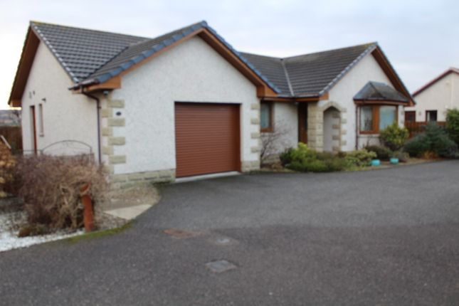 Thumbnail Detached bungalow for sale in Whispering Meadows, Buckie