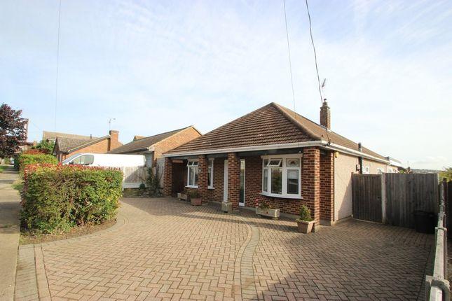 Thumbnail Detached bungalow for sale in Elm View Road, Benfleet