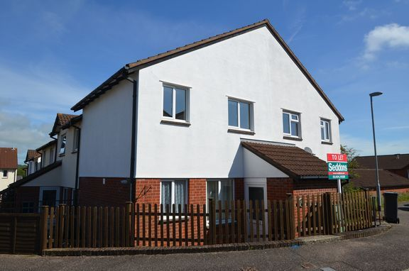 Thumbnail End terrace house to rent in Steel Close, Honiton