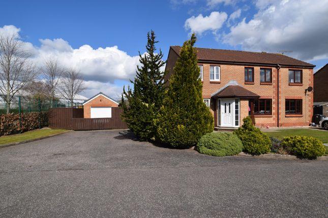 2 bed semi-detached house for sale in 1 Wellington Avenue, Heathhall, Dumfries DG1