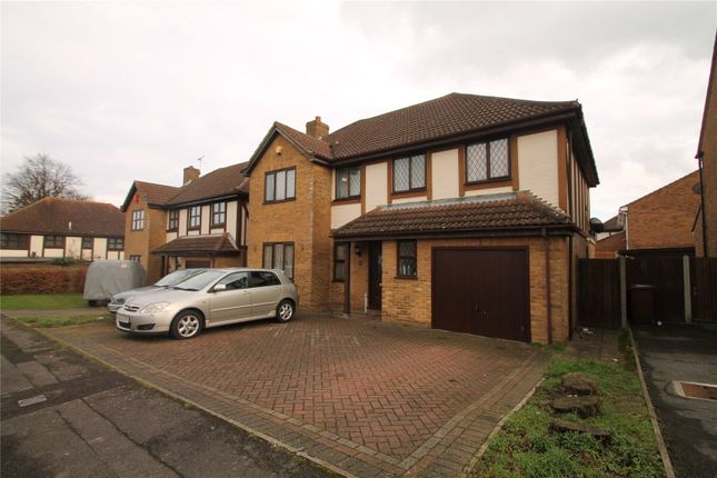 Thumbnail Detached house for sale in Heritage Drive, Darland, Gillingham, Kent