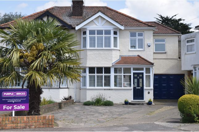 Thumbnail Semi-detached house for sale in Buckingham Close, Enfield