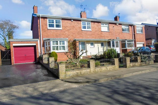 Thumbnail Semi-detached house for sale in Yoden Road, Peterlee