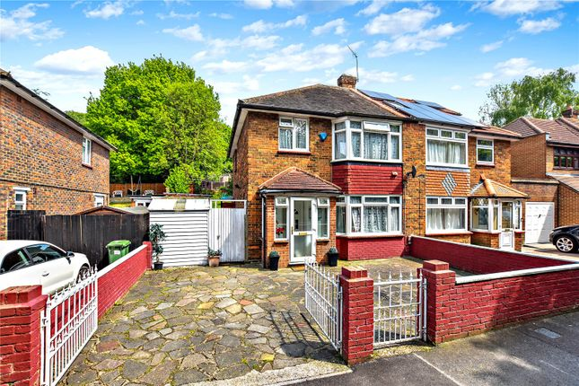 Thumbnail Semi-detached house for sale in Rochester Drive, Bexley, Kent