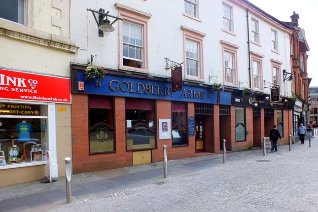 Thumbnail Commercial property for sale in Goldberry Arms 26 Bank Street, Kilmarnock