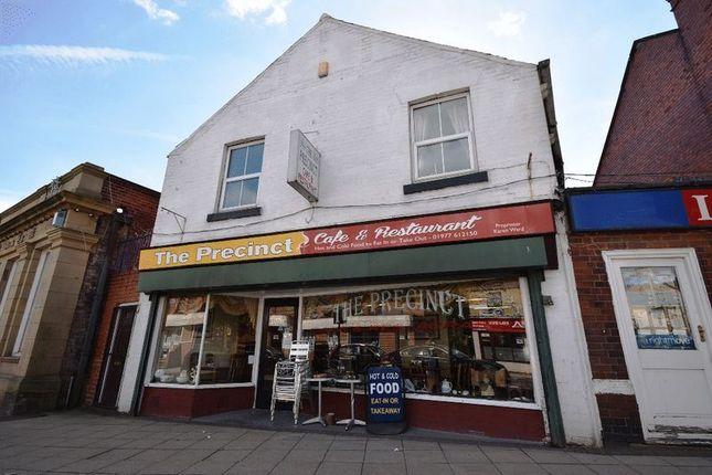 Thumbnail Restaurant/cafe for sale in Bank Street, Hemsworth, Pontefract
