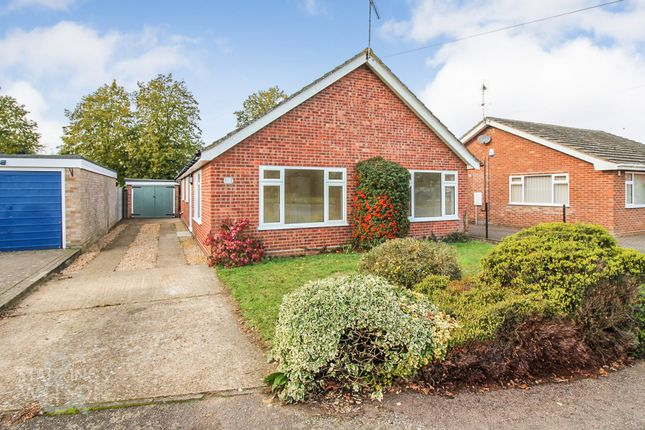 Thumbnail Detached bungalow for sale in Lime Close, Harleston
