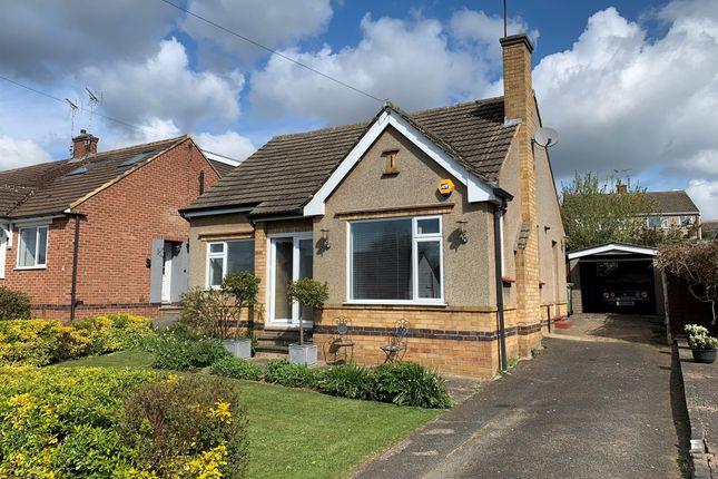 Thumbnail Detached bungalow for sale in Hammond Way, Market Harborough