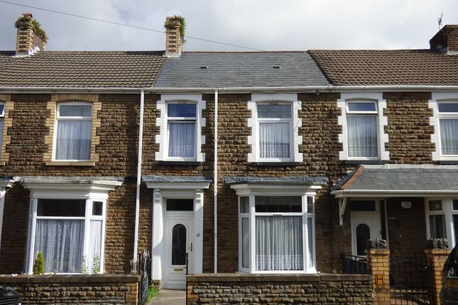 Thumbnail Terraced house for sale in Harle Street, Neath, West Glamorgan.