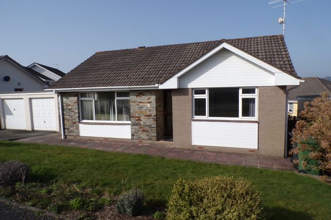 Thumbnail Detached bungalow to rent in Walton Way, Barnstaple