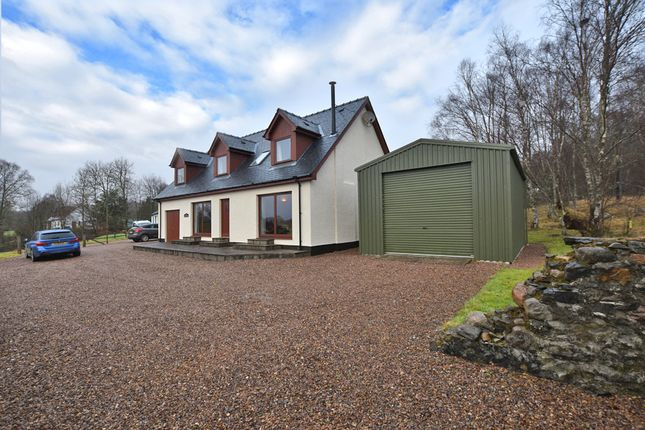 Thumbnail Detached house for sale in Upper Inverroy, Roy Bridge