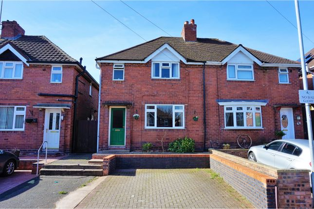 Thumbnail Semi-detached house for sale in Newman Grove, Rugeley