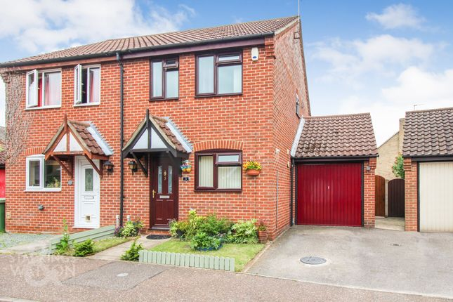 2 bed semi-detached house for sale in Seaforth Drive, Taverham, Norwich NR8