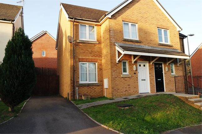 Thumbnail Semi-detached house for sale in Swallow Close, North Cornelly, Bridgend, Mid Glamorgan
