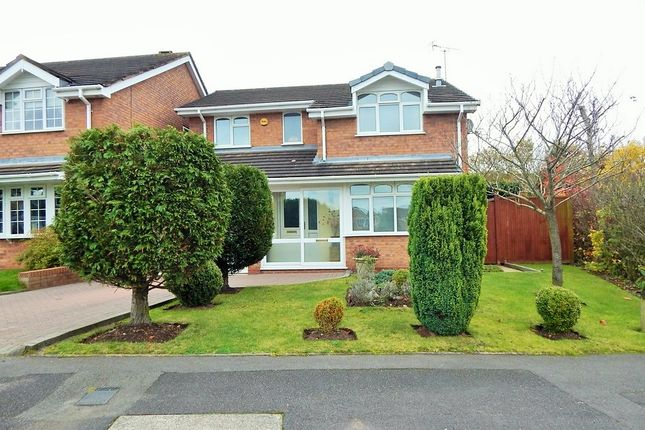 Thumbnail Detached house for sale in Peterborough Drive, Heath Hayes