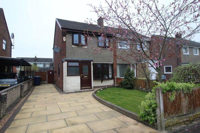 Thumbnail Semi-detached house to rent in Whitendale Drive, Bamber Bridge, Preston