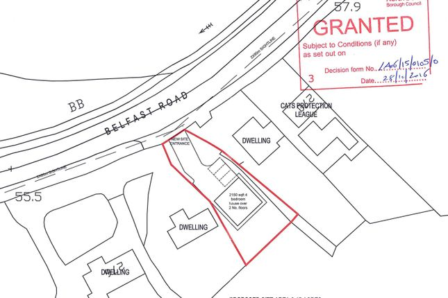 Land for sale in Belfast Road, Dundonald