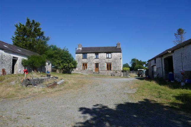 Thumbnail Farm for sale in Tir Ifan Ddu, Llanfynydd, Carmarthen