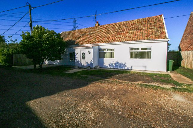 Thumbnail Bungalow for sale in Willow Drive, Setch, King's Lynn