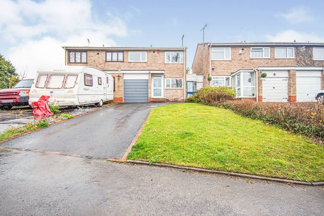 Thumbnail Semi-detached house for sale in Peterbrook Road, Shirley, Solihull