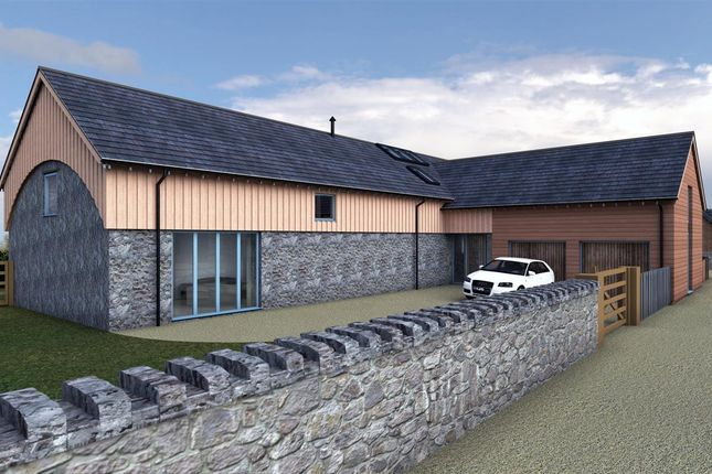 Thumbnail Detached house for sale in Haybarn, Llwyn Onn, Llanfairpwll