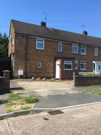 Thumbnail Semi-detached house for sale in Laburnum Road, Leicester