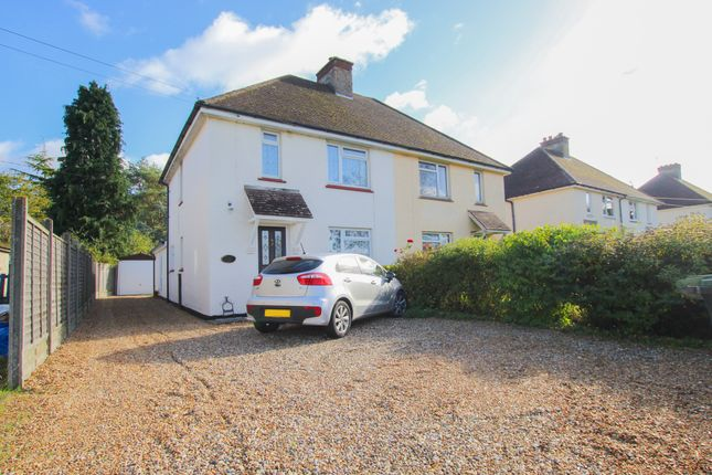 3 bed semi-detached house for sale in Brinkley Road, Burrough Green, Newmarket CB8