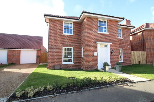 Thumbnail Detached house for sale in Stevenson Road, Wroxham, Norwich