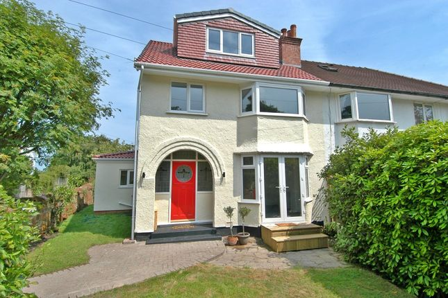 Thumbnail Semi-detached house for sale in Fleck Lane, West Kirby, Wirral