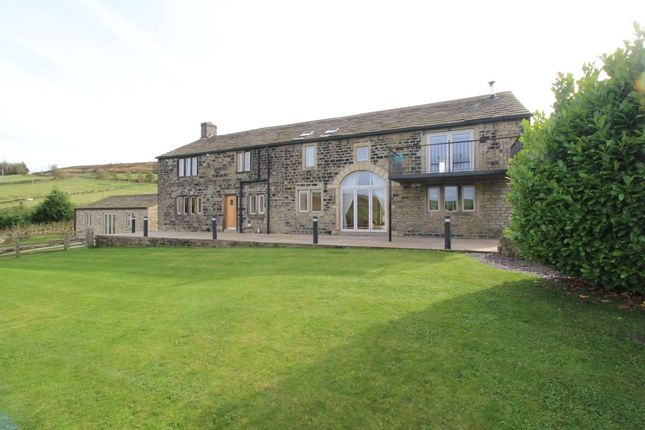 Thumbnail Detached house to rent in Rishworth, Sowerby Bridge