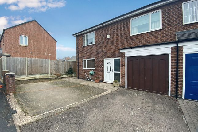 Thumbnail Semi-detached house for sale in Gladstone Street, Lutterworth, 4