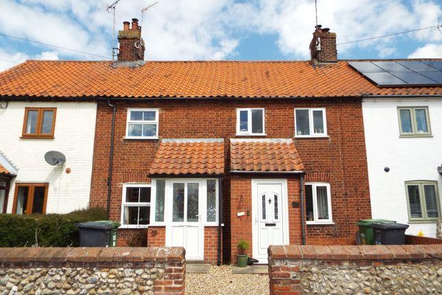 2 bed terraced house for sale in Sculthorpe, Fakenham, Norfolk NR21