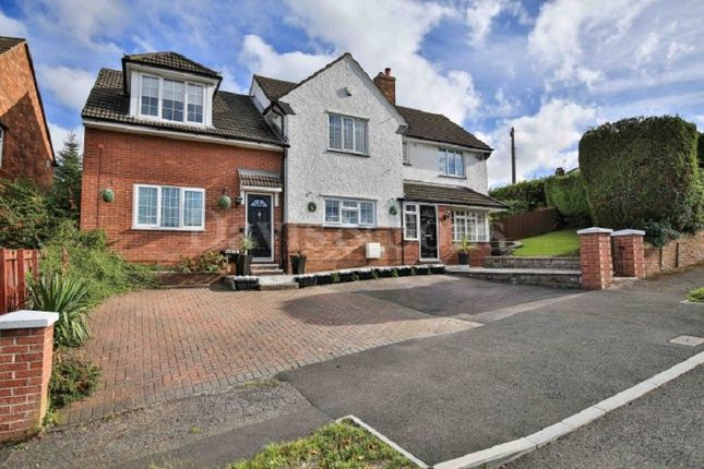 Thumbnail Detached house for sale in Vale View, Newport, Gwent.