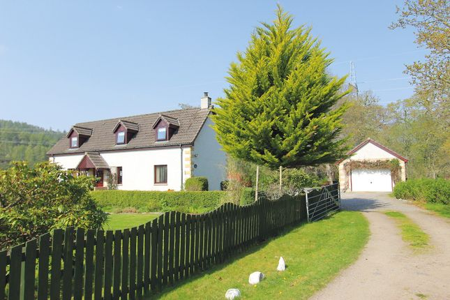 Thumbnail Detached house for sale in The Forest Lodge, Black Bridge, Kiltarlity