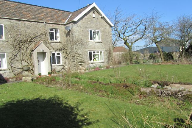 Thumbnail Farmhouse to rent in Nordrach Lane, Compton Martin