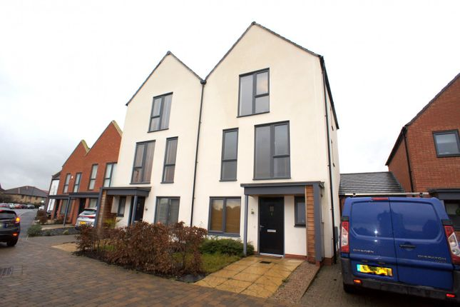 Thumbnail 4 bed semi-detached house to rent in Prince George Drive, Derby