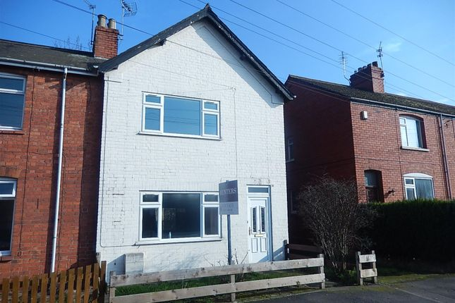 Thumbnail End terrace house for sale in Lea Road, Gainsborough