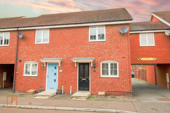 2 bed terraced house to rent in Carus Crescent, Colchester, Essex CO4