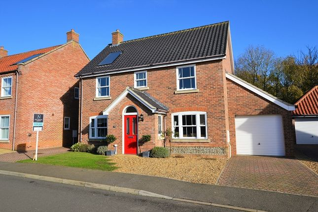 Thumbnail Detached house for sale in Owen Cole Close, Great Massingham, Kings Lynn, Norfolk.