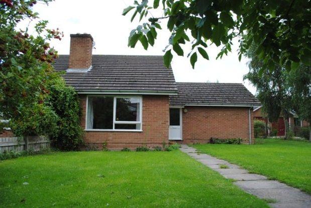 Thumbnail Bungalow to rent in West Drive, Highfields Caldecote, Cambridge