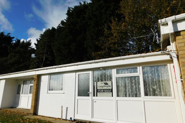Thumbnail Terraced bungalow for sale in Butt Lane, Burgh Castle, Great Yarmouth