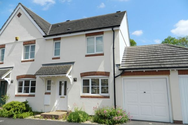 Thumbnail Semi-detached house to rent in Fairfield, Ilminster
