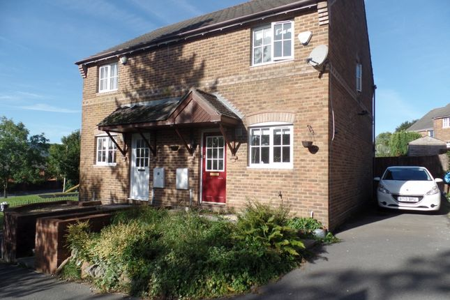 Thumbnail Semi-detached house to rent in Bishops Grove, Penydarren