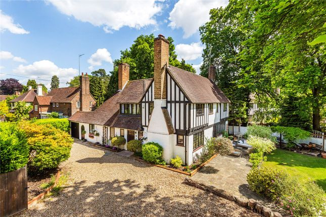 Thumbnail Detached house for sale in Camberley, Surrey