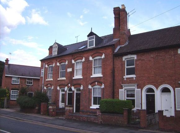 Thumbnail Town house to rent in Chestnut Walk, Worcester