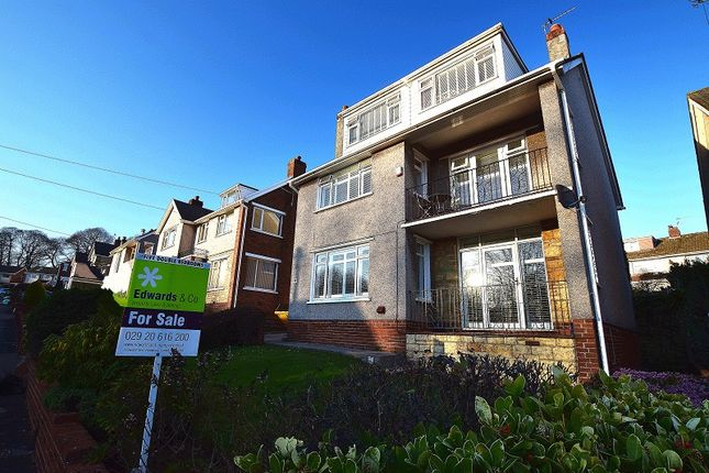 Thumbnail Detached house for sale in Heol Y Coed, Rhiwbina, Cardiff.