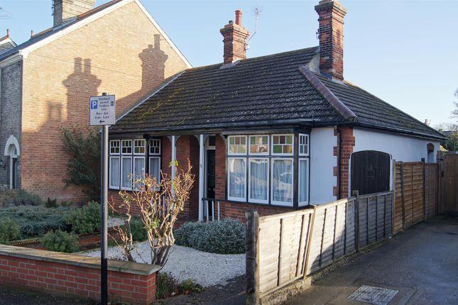 Thumbnail Bungalow for sale in Albert Crescent, Bury St. Edmunds