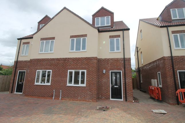 Thumbnail Semi-detached house to rent in Riley Court, Armthorpe, Doncaster