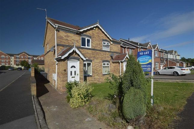 Thumbnail Semi-detached house to rent in Maldon Drive, Victoria Dock, Hull